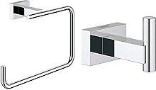 Grohe Porta Salviette Ad Anello Essentials Cube,