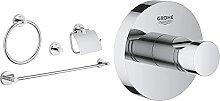 Grohe Set Accessori Bagno 4-In-1 Essentials Cromo