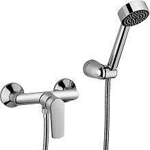 Gruppo doccia esterno cromato | funky