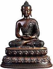 GRX-ART Statua in Rame Puro Amitabha, Statua