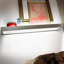 GS 2-LED decorativo di vetro da scaffali, 90 cm
