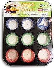 Guardini Gardenia, Stampo 12 muffins+60pirottini