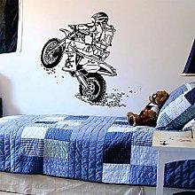 guijiumai Adesivo murale Moto Adesivi murali Sport