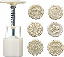Gulang-keng - Stampo per torta di luna, 50 g, 6