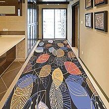 GUODIU Tappeto Corridoio 70x230cm Velluto Design