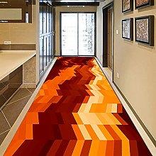 GUODIU Tappeto Corridoio 70x500cm Velluto Design