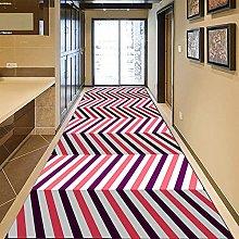 GUODIU Tappeto Corridoio Passatoia 110x150cm