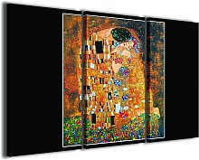 Gustav Klimt Il Bacio Composition
