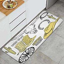 GUVICINIR Tappeti Cucina Antiscivolo Tappeti per