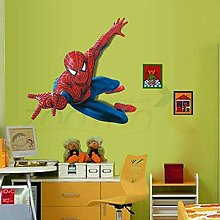 GVC Adesivi murali giganti Superman Spiderman