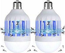 Gvoo - Lampada a LED 2 in 1, E27, con luce UV,