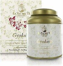 Gyokuro, tè Verde Giapponese, Barattolo di Latta,