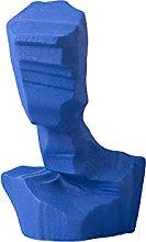 GZSBM Decorazione della Statua Creativo Blu