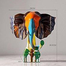 GZSBM Decorazione della Statua Elefante d'Arte