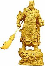 GZSBM Decorazione della Statua Scultura in Legno