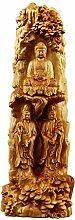 GZSBM Decorazioni Scultura in Legno Statua di