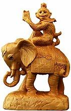 GZSBM Statua Pezzi di Manico di Elefante Yueqing