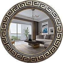 H-BEI Specchio da Parete in Bronzo Antico,