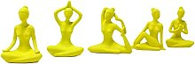 H HILABEE 5 pezzi posa yoga ragazza piccola