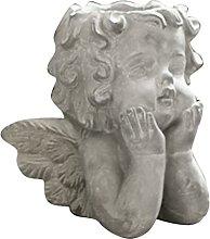 H HILABEE Angelo Vaso di Fiori Statua Scultura