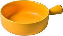 H HILABEE Ciotola per zuppa rotonda Insalata di