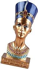 H HILABEE Scultura Dipinta Resina della Figurina