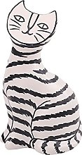H HILABEE Statua di gatto divertente - Statuetta