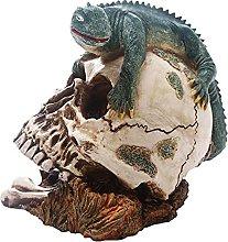 H HILABEE Statua di teschio umano di Halloween,