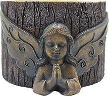 H HILABEE Vaso da Fiori per Ragazze Statue