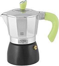 HABI Gran caffè Caffettiera Tazze 2, Alluminio,