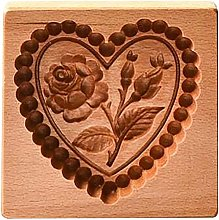 Hahepo Stampo per biscotti in legno per biscotti a