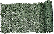 Hainice Hedge Artificiale Foglia Verde Foglia Faux