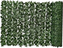 Hainice Siepe Artificiale Green Leaf Faux Ivy