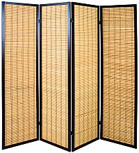 Haku Möbel Paravento, Legno, Tabacco bambù, 182