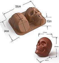 Halloween cerebrale cranio design in silicone