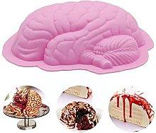 Halloween Cervello in silicone stampo dessert