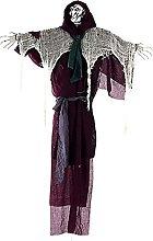 Halloween Decorazioni Creepy Black Cloth Garza