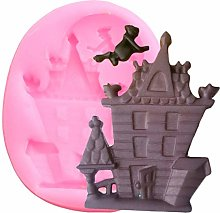 Halloween Haunted House Stampo in silicone Stampo