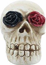 Halloween scheletro Lights - Statue Cranio con