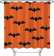 Halloween sfondo arancione modello nero Stampa HD,
