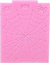 Halloween Spider Web Shape Fondant Silicone Stampo