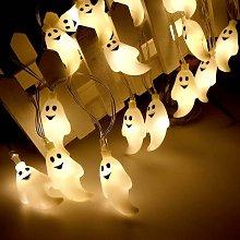 Halloween String Lights 30 LED Ghost Spirit Light