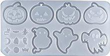 Halloween zucca fantasma ciondolo portachiavi