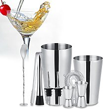 Haofy Set di shaker cocktail, 10 pezzi per Set di