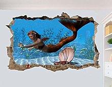 HAOGG Adesivo Effetto 3D Adesivi Murali Poster
