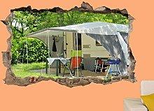 HAOGG Adesivo Effetto 3D Adesivo Murale Adesivo