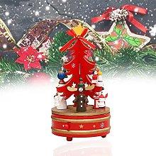 HAOXIU Carillon rotante in legno, decorazione