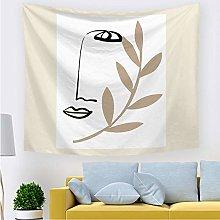 haoyunlai Nodig Blanket Tapestry Wall Hanging