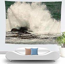 haoyunlai Wall Hanging Hippie Tapestry Sea Waves