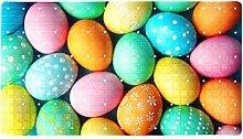 Happy Easter Eggs, tappetino da bagno antiscivolo,